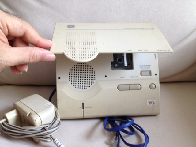 general electric answering machine